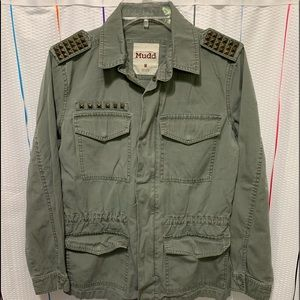 Military style jacket by Mudd Size M